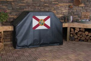 Florida State Flag Logo Grill Cover