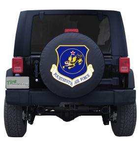 Fourteenth Air Force Custom Tire Cover Jeep Wrangler