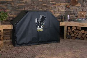 French Bulldog Top Hat Logo Grill Cover