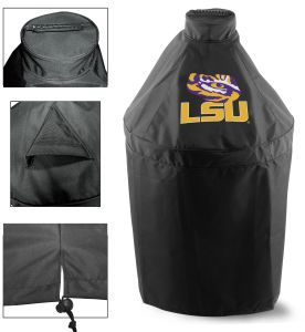 Louisiana State University Big Green Egg Grill Cover