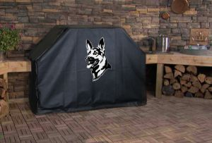 German Shepherd Logo Grill Cover
