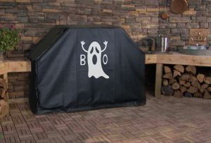 Ghost Boo Logo Grill Cover