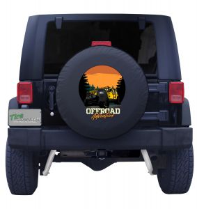 Go Off Road Jeep Tire Cover
