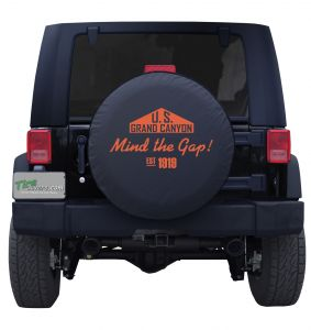 Grand Canyon Mind the Gap Tire Cover