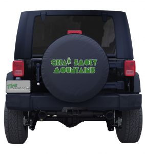 Great Smoky Mountains National Park Custom Tire Cover