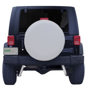 Plain Gray Spare Tire Cover