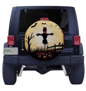 Scare Crow Tire Cover