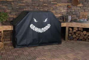Halloween Smile Custom Grill Cover