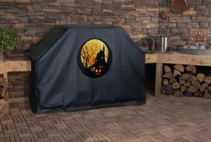 Halloween Spooky Night Custom Grill Cover