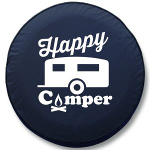 Happy Camper RV Tire Cover