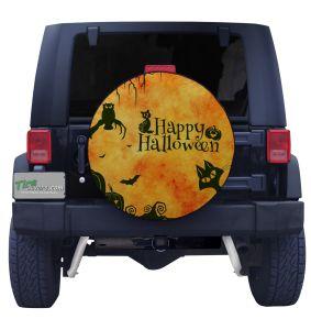 Happy Halloween Tire Cover