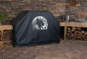 Headless Horseman with Moon Custom Grill Cover