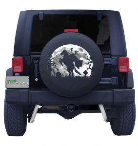Headless Horseman with Moon Tire Cover