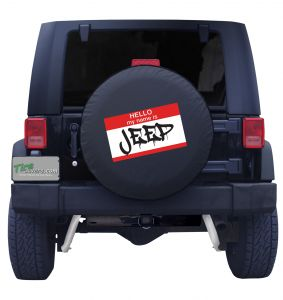 Jeep Hello Tire Cover