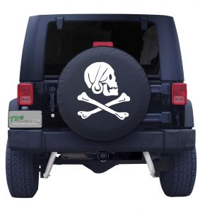 Henry Pirate Flag Tire Cover