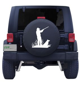 Best Friends Hunting Tire Cover