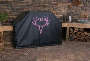 Huntress Logo Grill Cover