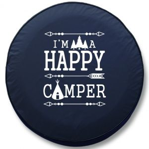 I'm A Happy Camper RV Tire Cover