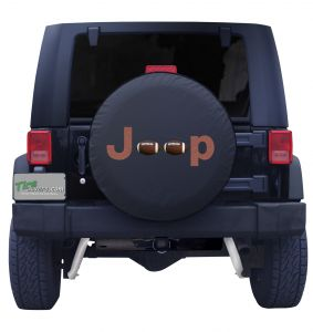 Jeep Football Tire Cover