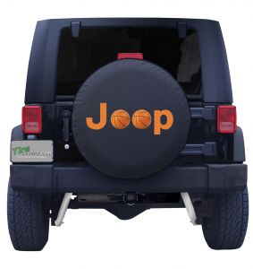 Jeep Basketball Tire Cover
