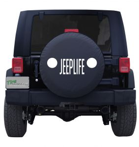 Jeep Grill Jeep Life Custom Tire Cover