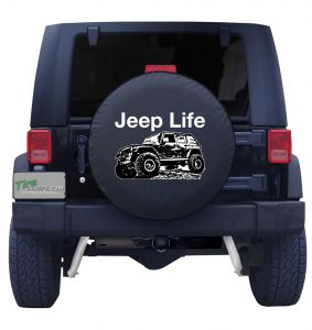 Jeep Life Tire Cover Front