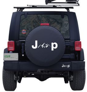 Jeep Mountains Custom Tire Cover Jeep Wrangler