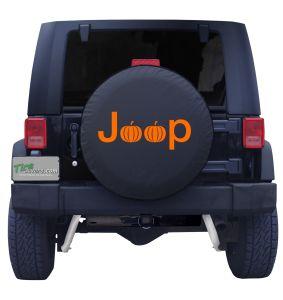 Jeep Pumpkin Fall Tire Cover