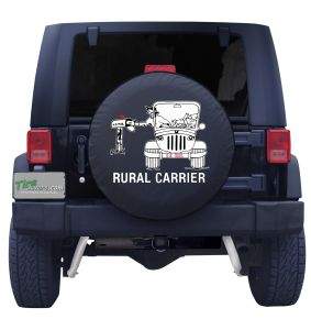 Rural Mail Carrier Jeep Tire Cover