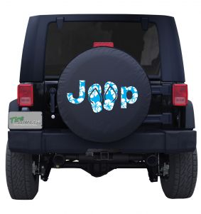 Jeep Aloha Sandals Tire Cover