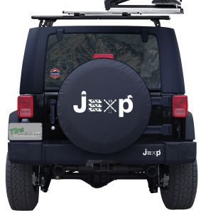 Jeep Ski and Snowboard Custom Tire Cover