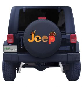 Jeep Thanksgiving Tire Cover