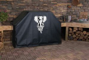 Jungle Elephant Outdoor Grill Cover