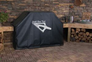 Just the Tip Logo Grill Cover