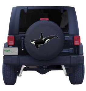 Killer Whale Tire Cover