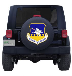 Leading the Charge 51st Fighter Wing Tire Cover
