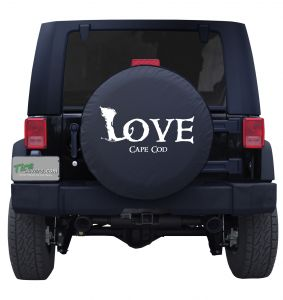 Love Cape Cod Custom Tire Cover