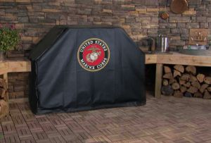 U.S. Marine Corps Logo Grill Cover