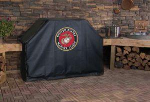 U.S. Marine Corps Logo Grill Cover