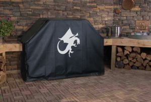 Medieval Dragon Logo Grill Cover