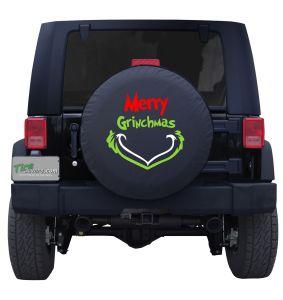 Merry Grinchmas Custom Tire Cover