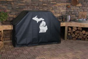Michigan Lake Life Logo Grill Cover