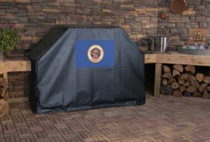 Minnesota State Flag Logo Grill Cover