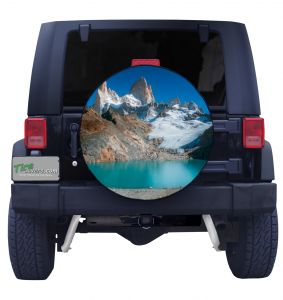 Mount Fitzroy Tire Cover
