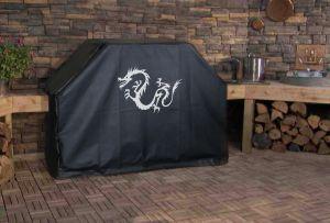 Mystic Dragon Logo Grill Cover