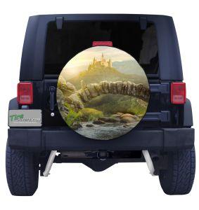 Mystical Irish Castle Tire Cover