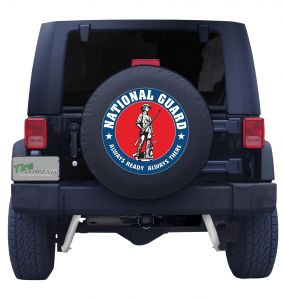 National Guard Tire Cover
