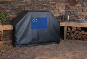 Nevada State Flag Logo Grill Cover