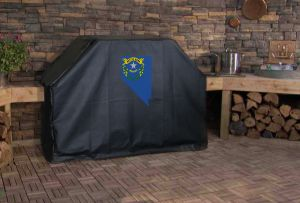 Nevada State Outline Flag Logo Grill Cover