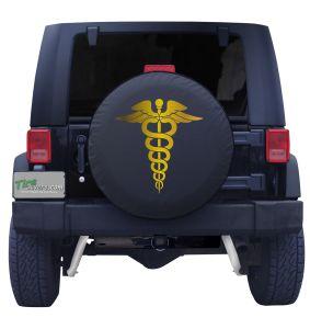 Caduceus Nurse Symbol Front